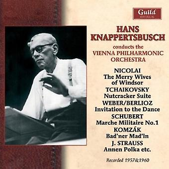 Hans Knappertsbusch Conducts The Vienna Philharmon [CD] USA import