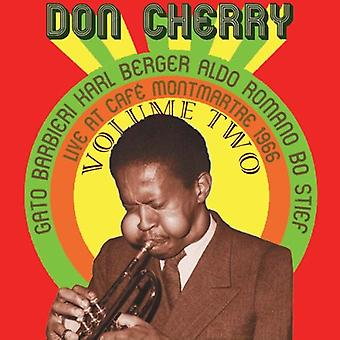 Don Cherry - Don Cherry: Vol. 2-Live at Cafe Montmartre 1966 [CD] USA import