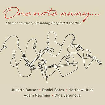 One Note Away [CD] USA import