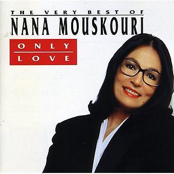 Nana Mouskouri - bare kjærlighet-det beste av [DVD] USA importere