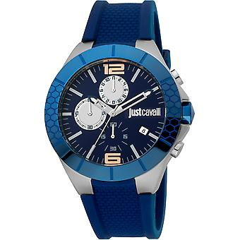 Just Cavalli Sport Watch JC1G081P0035 - Silicon Gents Quartz Chronograph