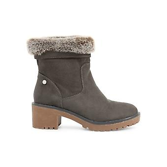 Xti - Shoes - Ankle boots - 33913_GREY - Ladies - dimgray - EU 36
