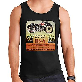 BSA Throughout The Years Men's Vest