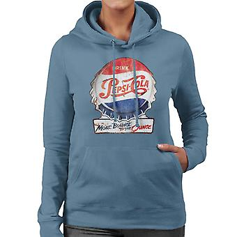 Pepsi Cola More Bounce To The Ounce Women's Hooded Sweatshirt
