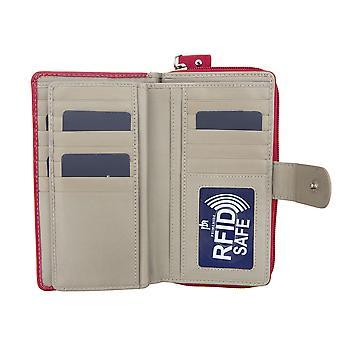 Primehide Womens Large Leather Wallet RFID Blocking Ladies Purse 2404