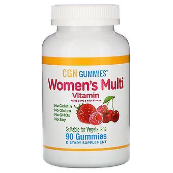 California Gold Nutrition, Women's Multi Vitamin Gummies, No Gelatin, No Gluten,