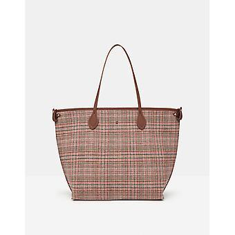Joules Fulbrook Donne Tote Tweed Bag - Tweed Rosa