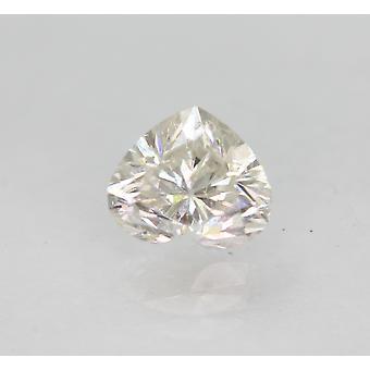 معتمد 1.09 قيراط F SI1 القلب المحسن الطبيعية فضفاضة الماس 6.91x5.9mm 2VG