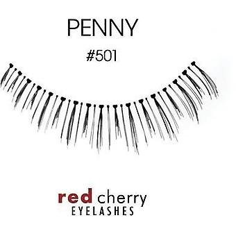 Red Cherry Premium False Under Lashes - #501 Penny - Handmade with Real Hair