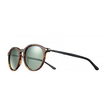 Sunglasses Unisex Cat.3 matte brown/green (JSL11590528)