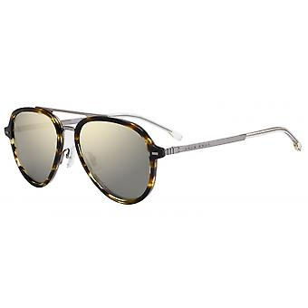 Okulary przeciwsłoneczne Mężczyźni 1055/S2W8/HA Mężczyźni Odblaskowy Brązowy