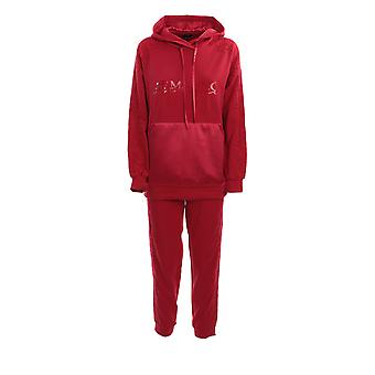Ermanno Scervino Fl13fel410 Women's Red Cotton Jumpsuit