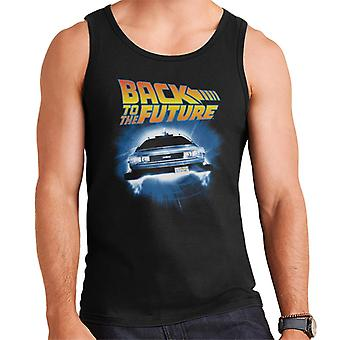 Back to the Future Delorean Time Traveling Men's Vest