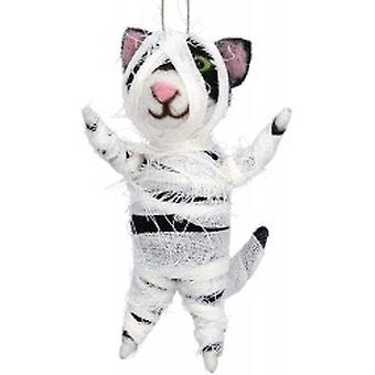 Gisela Graham Halloween Cat Decoration