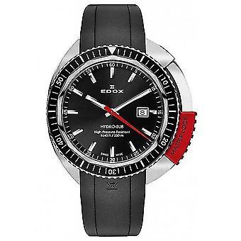 Edox Watches Hydro-Sub Quartz Men's Watch 53200 3NRCA NIN