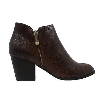 Style & Co. Women's Shoes Masrinaa Leather Almond Toe Ankle Fashion Boots