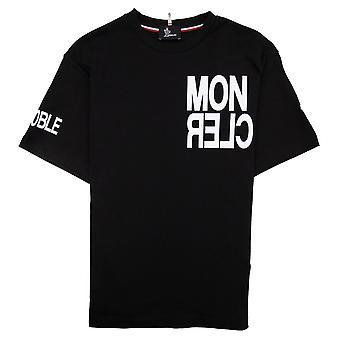 Moncler #moncler camiseta de Grenoble Negro