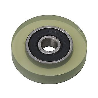 0,6x3x0.6cm 626 Tipo cuscinetto PU Cuscinetto a sfera rivestito Pulley Wheel 85A