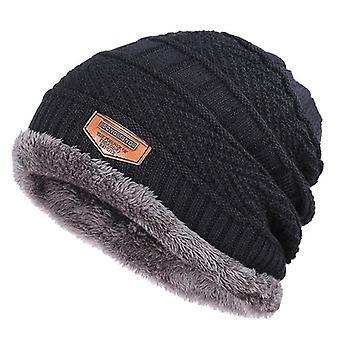 Fashion Knitted Winter Hats, -thick And Warm Bonnet