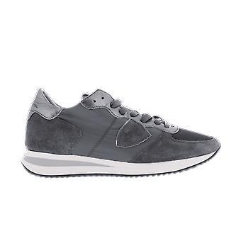 Philippe Model TRPX L DMONDIAL METAL ANTHRACI Grey TZLDWM11WM11 chaussure