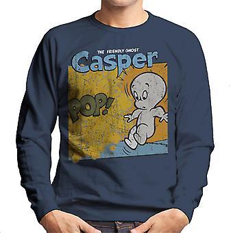 Casper The Friendly Ghost Pop Frame Men's Sweatshirt