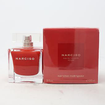 Narciso Rouge by Narciso Rodriguez Eau De Toilette 3.0oz/90ml Spray New With Box