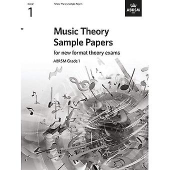 Music Theory Sample Papers,� ABRSM Grade 1 (Theory of Music Exam papers & answers (ABRSM))