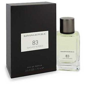 Banana Republic 83 Leather Reserve By Banana Republic Eau De Parfum Spray (unisex) 2.5 Oz (men) V728-550991