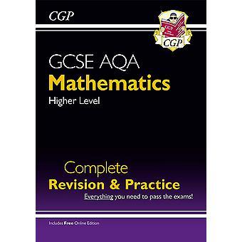 CGP GCSE wiskunde AQA Volledige herziening en praktijk