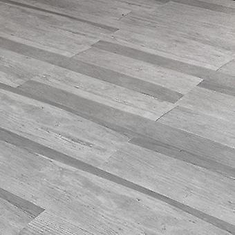 YangFAN autoadhesivo de madera grano pegatinas de piso