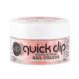 ASP Quick Dip Acrylic Dipping Powder Nail Colour - Peach Pleasure