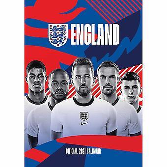 England FA 2021 A3 Calendar