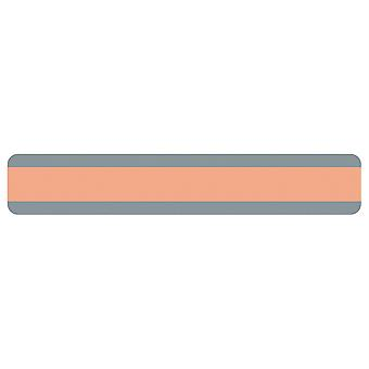 "Double Wide Sentence Strip Reading Guide, 1.25"" X 7.25"", Peach"