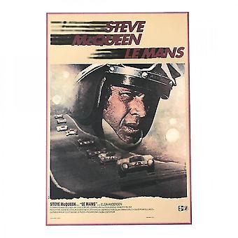Larrini Steve Mcqueen French Film Poster