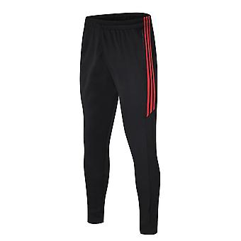 Sport Jogging Zip Running Pants Men Soccer Fitness Workout Gym Running Suit Men