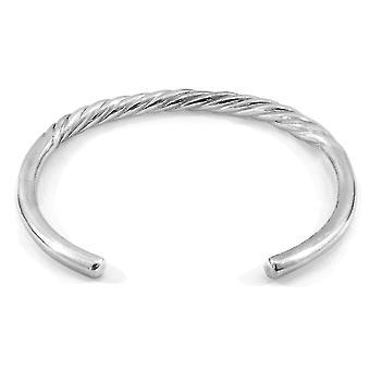 ANCHOR & CREW Haden Half Rope Wayfarer Silber Armreif