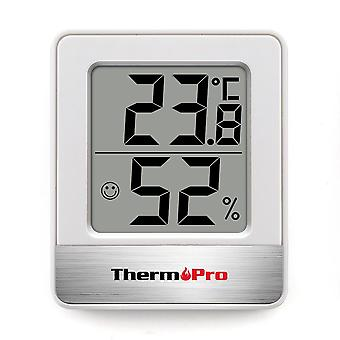 Thermopro Tp49 Thermometer Hygrometer Mini Indoor Weather Station Thermometer