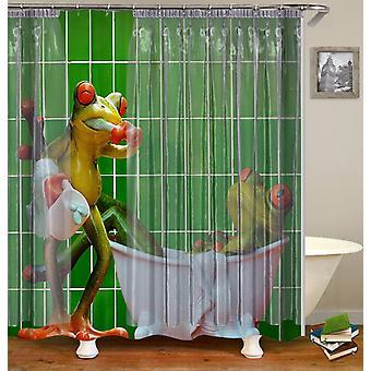 Frogs' Bathroom Shower Curtain