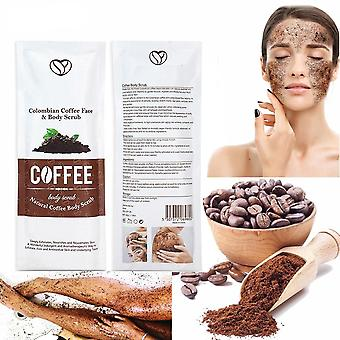 Kahvi kuorinta Body Cream Natural Orgaaninen Kaava Kasvojen Merisuola Kuorinta