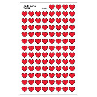 Red Hearts Supershapes Stickers, 800 Ct