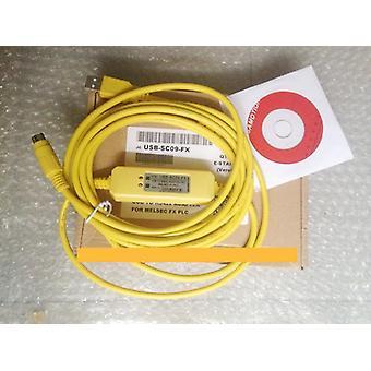 Usb-sc09-fx Plc Data Programming Cable, Sc-09 Sc09 Fx Fx1n / Fx2n / Fx1s / Fx3u
