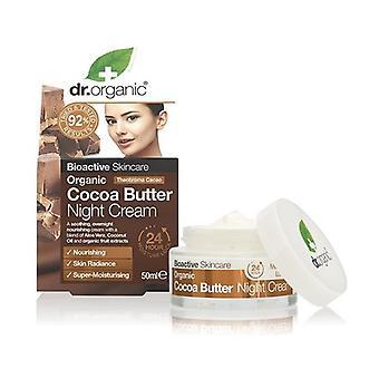 Organic Cocoa Butter Night Cream 50 ml of cream