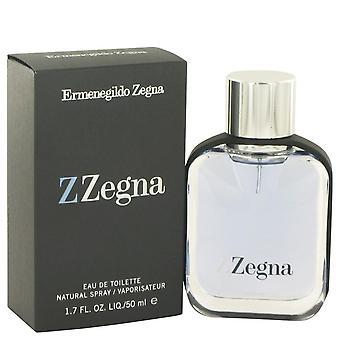 Z Zegna Eau De Toilette Spray By Ermenegildo Zegna 1.7 oz Eau De Toilette Spray