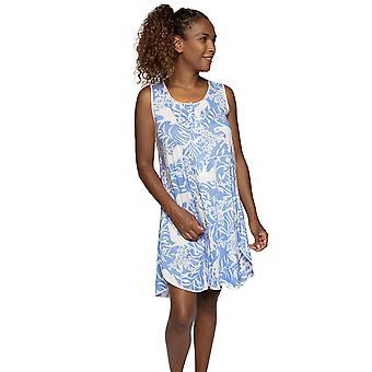 Cyberjammies Nora Rose Elizabeth 1524 Mujer's Vestido de noche de algodón floral azul