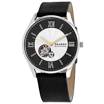Skagen Uomo Holst Silver Quadrant Watch - SKW6710