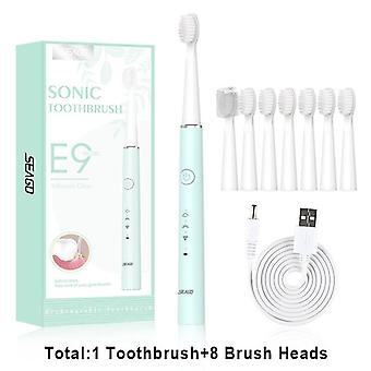 Electric Toothbrush With 1 Replacement Brush Head