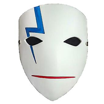 Darker Than Black Mask Thunder Half Face Mask Party Cosplay Props