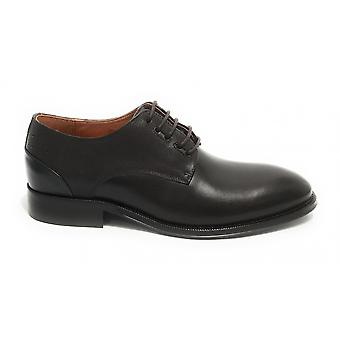Men's Shoe Ambitious 11082 Francesina Lace-up In Leather Brown Us21am19