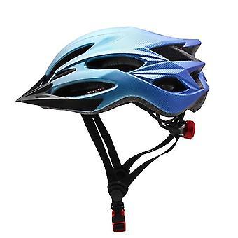 Moderno eco friendly construir capacete de bicicleta com luz traseira montada em LED e viseira