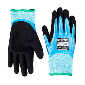 Polyco GIOTHK5/07 Grip It Oil Thermal Cut Resistant 5 Gloves Size 7